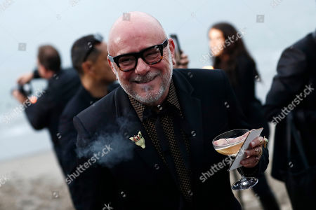 Stock Picture of US florist and perfumer Eric Buterbaugh arrives to attend the Spring/Summer 2020 Menswear collection show by Belgian designer Anthony Vaccarello for Saint Laurent Paris fashion house, in Malibu, California, USA, 06 June 2020.