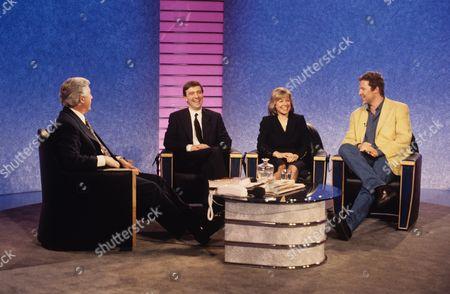 Michael Aspel, John McCarthy, Jill Morrell and Rory Bremner