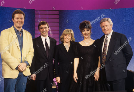 Stock Image of Rory Bremner, John McCarthy, Jill Morrell, Lesley Garrett and Michael Aspel