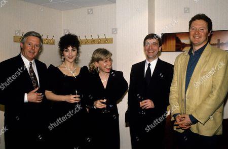 Rory Bremner, John McCarthy, Jill Morrell, Lesley Garrett and Michael Aspel