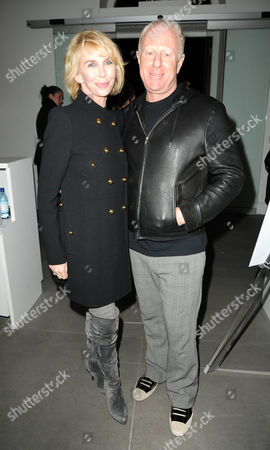 Trudie Styler and Bobby Sager