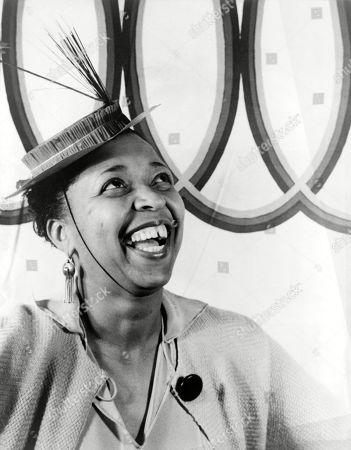 Ethel Waters (1896-1977), American blues singer, portrait by Carl Van Vechten, August 28, 1938.