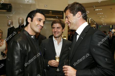Gilles Marini, Charles Delapalme and Daniel Paltridge