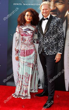 Tais Araujo and Marcello Coltro, Senior Vice President Content and Creative at NBCUniversal Media, arrive for the 47th AFI Life Achievement Award honoring Denzel Washington at the Dolby Theatre in Hollywood, Los Angeles, California, USA 06 June 2019. The AFI Life Achievement Award is the highest honor given for a career in film.