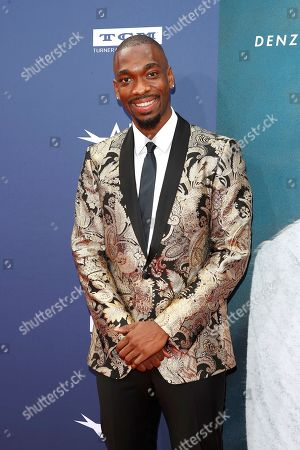 Stock Photo of Jay Pharoah arrives for the 47th AFI Life Achievement Award honoring Denzel Washington at the Dolby Theatre in Hollywood, Los Angeles, California, USA 06 June 2019. The AFI Life Achievement Award is the highest honor given for a career in film.