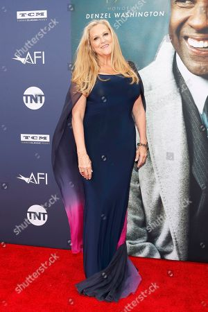 Lori McCreary arrives for the 47th AFI Life Achievement Award honoring Denzel Washington at the Dolby Theatre in Hollywood, Los Angeles, California, USA 06 June 2019. The AFI Life Achievement Award is the highest honor given for a career in film.