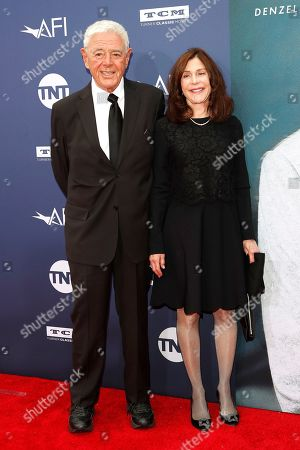 Richard Donner and wife US producer Lauren Shuler Donner arrive for the 47th AFI Life Achievement Award honoring Denzel Washington at the Dolby Theatre in Hollywood, Los Angeles, California, USA 06 June 2019. The AFI Life Achievement Award is the highest honor given for a career in film.