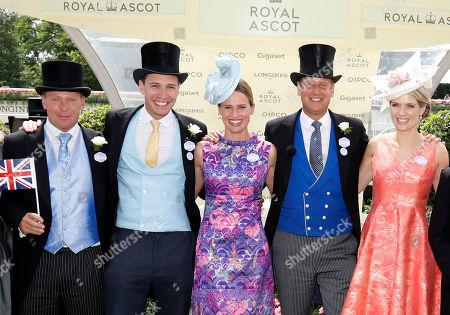 Editorial photo of 'ITV Racing Live: Royal Ascot' TV Show UK  - Jun 2019