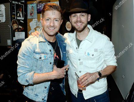 Stock Photo of Singer/Songwriters Billy Gilman and Brett Kissell