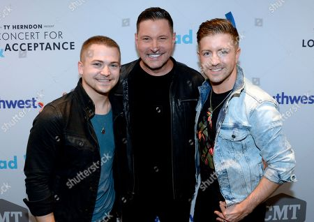 Singer/Songwriters Hunter Hayes, Ty Herndon and Billy Gilman