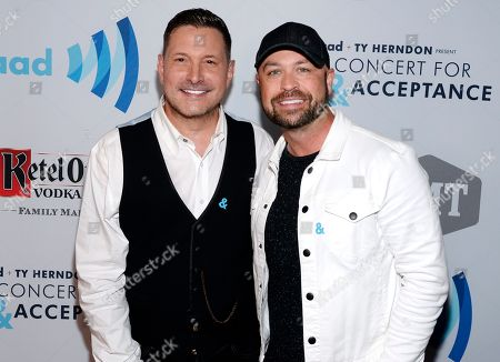 Stock Picture of Ty Herndon and Cody Alan