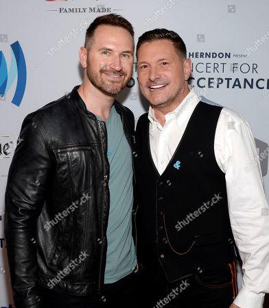 Matt Collum and Ty Herndon