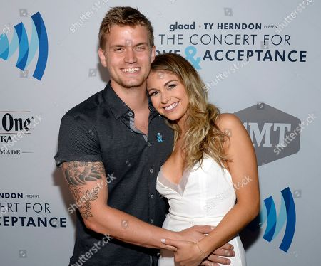 Levi Hummon and Alyssa Mocci