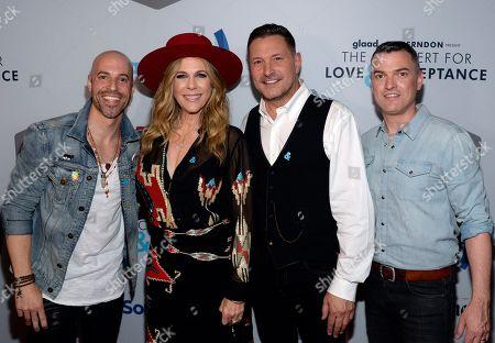 Singer/Songwriters Chris Daughtry, Rita Wilson, Ty Herndon & GLAAD's Zeke Stokes