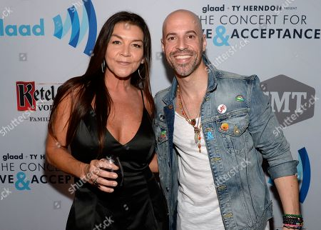 Singer/Songwriters Gretchen Wilson and Chris Daughtry