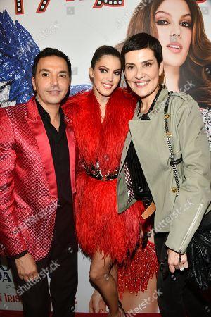 Kamel Ouali, Iris Mittenaere and Cristina Cordula