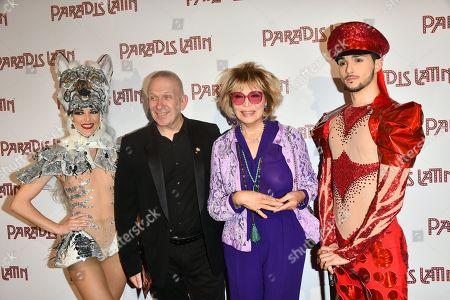 Jean Paul Gaultier and Amanda Lear