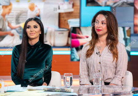 Stock Picture of Faryal Makhdoom and Amelle Berrabah