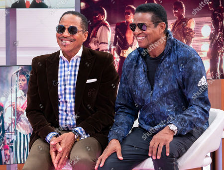 Marlon Jackson and Jackie Jackson
