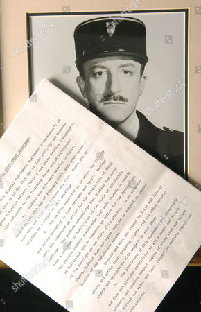 Peter Sellers alleged divorce papers