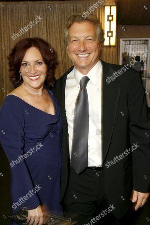 BAFTA/LA's Rebecca Segal  & Peter Morris