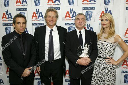 Ben Stiller, Peter Morris, Robert De Niro and Claire Danes