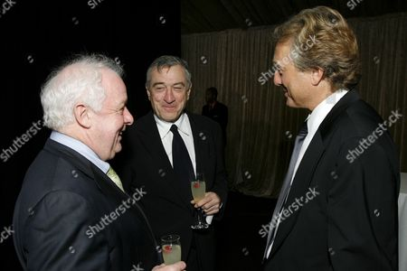 Jim Sheridan, Robert De Niro & BAFTA/LA Chairman Peter Morris