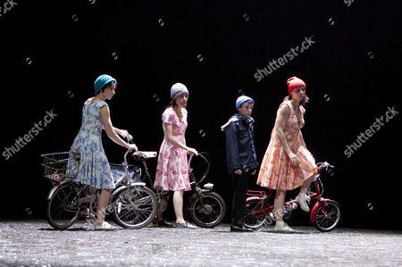 'The Rite of Spring' - Valentina Formenti (Woman), Daphne Strothmann (Woman), Nathan Attard (The Boy), Lorena Randi (Woman)