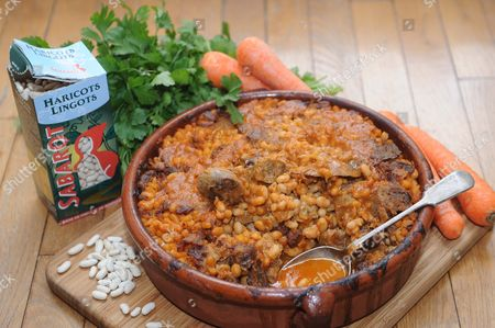 Stock Picture of Cassoulet
