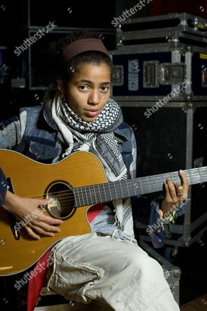 Editorial picture of Nneka at the University of London Union, London, Britain - 04 Nov 2009