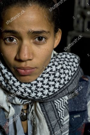 Editorial photo of Nneka at the University of London Union, London, Britain - 04 Nov 2009