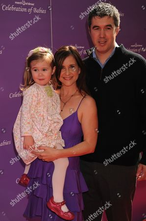 Kellie Martin, Keith Christian with daughter Margaret Heather Christian