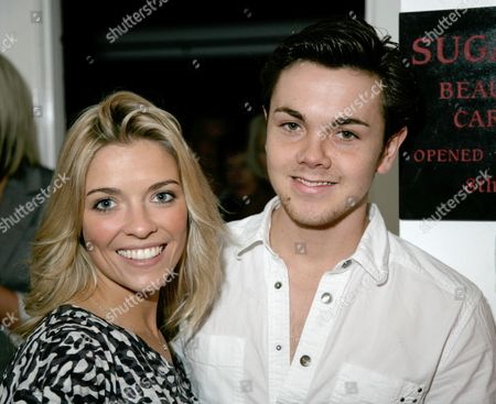 Emma Stephens and Ray Quinn