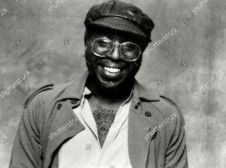 American soul singer Curtis Mayfield, c. 1980.