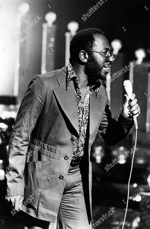 American soul singer Curtis Mayfield, c. 1973.