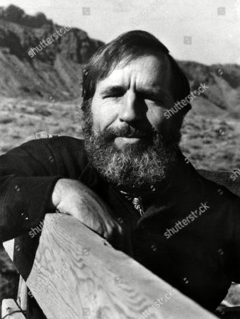 Edward Abbey, author of ABBEYS ROAD, 1979