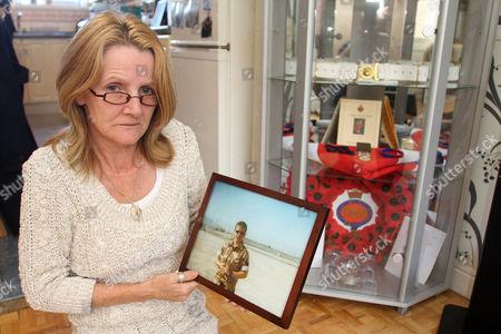 Jacqui Janes, whose son Jamie Janes was killed in Afghanistan