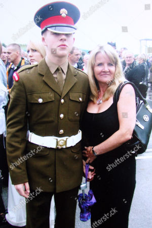 Stock Image of Jamie Janes with his mother Jacqui