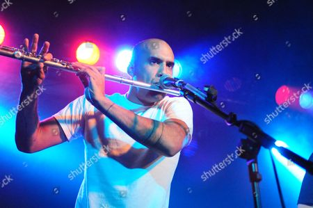 Stock Image of Nathan Flutebox Lee