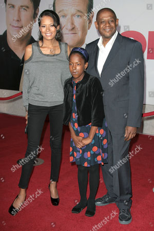 Keshia Whitaker and Forrest Whitaker and Daughter