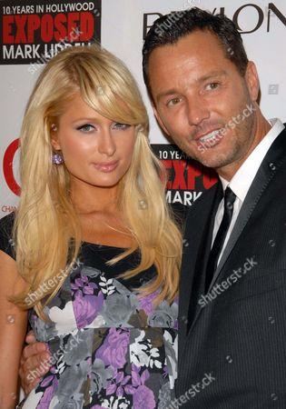 Paris Hilton and Mark Liddell