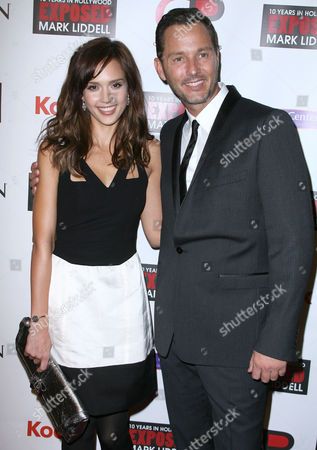 Jessica Alba and Mark Liddell