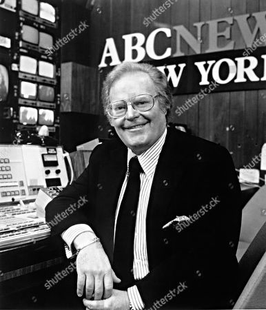 ROONE ARLEDGE, President of ABC News & Sports, early 1980s.