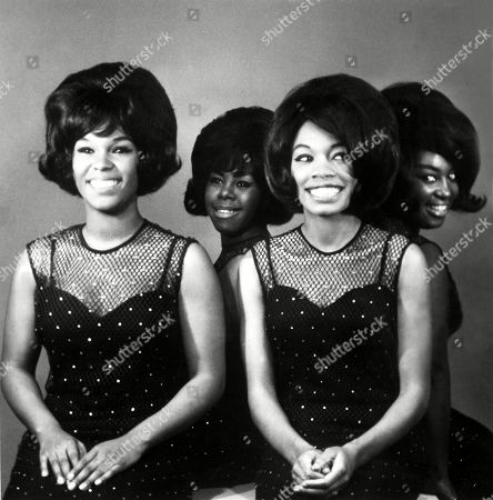 Stock Picture of The Shirelles, Shirley Owens, Beverly Lee, Addie Micki Harris, Doris Coley, ca.1968