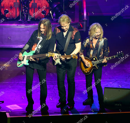Editorial picture of Styx in concert at the London Palladium, UK  - 04 Jun 2019