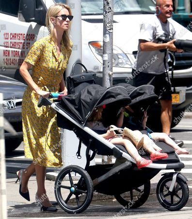 Stock Image of Nicky Hilton Rothschild, Teddy Rothschild and Lily Grace Victoria Rothschild