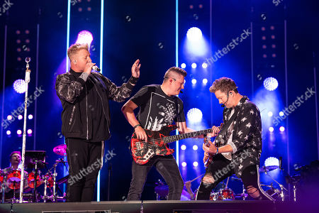 Rascal Flatts - Gary LeVox, Jay DeMarcus and Joe Don Rooney