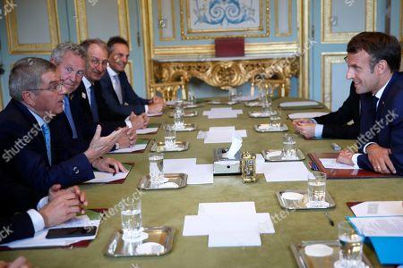 Editorial picture of IOC, Paris, France - 07 Jun 2019