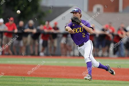 Editorial photo of NCAA East Carolina Baseball, Louisville, USA - 07 Jun 2019