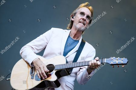 British gitarrist Mike Rutherford performs with the band Mike and the Mechanics on stage as an opener for Phil Collins' 'Not Dead Yet' tour, in Berlin, Germany, 07 June 2019.